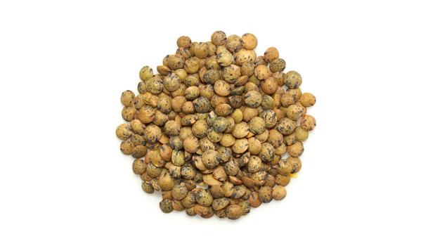 Organic french lentils.